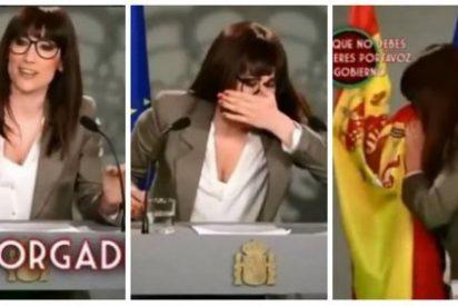 laSexta le tiene más odio a la bandera de España que en TV3: Ana Morgade también se sonó con ella los mocos