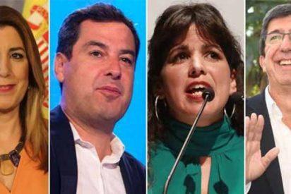 Andalucía: Gana el PSOE y el PP resiste ante Ciudadanos, que se queda como cuarta fuerza