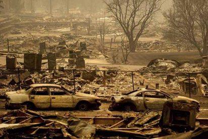 Son ya 42 muertos y más de 200 los desaparecidos en los letales incendios de California