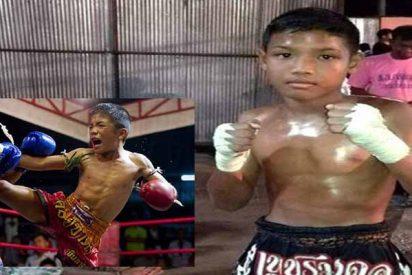 Muere de una hemorragia cerebral un niño de 13 años en un combate de boxeo tailandés