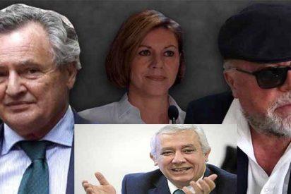 Cospedal y su marido encargaron al comisario Villarejo espiar a Javier Arenas
