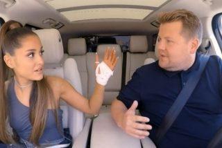 Ariana Grande y James Corden la lían en un 'escape room' que se salió de control