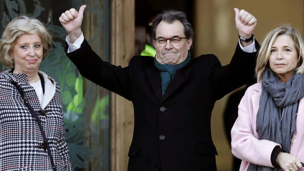 El golpe del Tribunal de Cuentas al bolsillo de Artur Mas a cuenta del 9-N