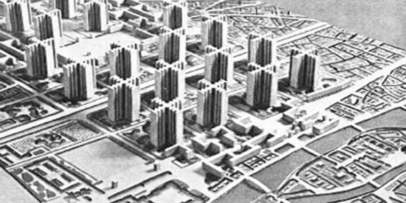 Así es la ciudad utópica de Le Corbusier