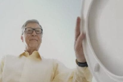 Así funciona el váter futurista de Bill Gates que funciona sin agua
