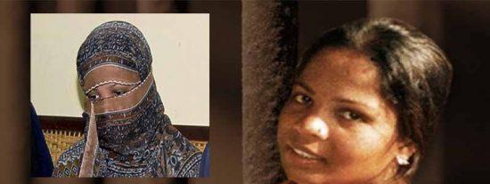 La cristiana Asia Bibi, condenada a muerte por los islámicos, sale de la cárcel y vuela en un avión fuera de Pakistán