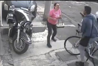 El ladrón mas cutre de la historia: Atraco a mano armada y en bici