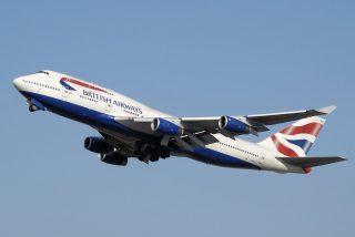 Un avión de British Airways bate el récord de velocidad en un vuelo transatlántico empujado por la tormenta 'Ciara'