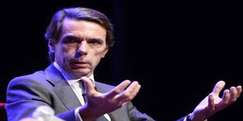 """José María Aznar: """"El terrorismo fue derrotado en España, pero ha sido resucitado"""""""