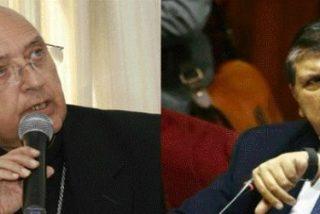 """El cardenal Barreto califica de """"vergüenza"""" la petición de asilo del expresidente García"""