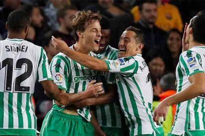 El Betis se marca un partidazo y le da lo suyo al Barça en el Camp Nou (3-4)