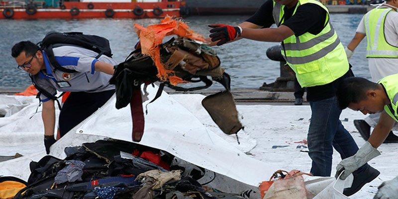 Caída del avión de Lion Air: Recuperan 69 horas de datos de la caja negra