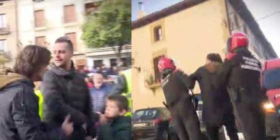 Cake Minuesa fue acosado y a punto de ser detenido ilegalmente por la Policía Foral mientras que Escolar asegura que apenas pasó nada en Alsasua