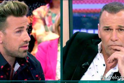 Carlos Lozano reaparece en Telecinco y casi termina a puñetazos con Rafa Mora