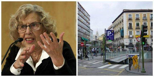 La última 'carmenada' contra el tráfico: los garajes tendrán que gastarse 50.000 euros para fichar las matrículas