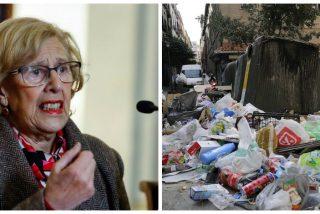 La basura invade las calles de Madrid: Manuela Carmena no ha solucionado el problema de la limpieza en la capital
