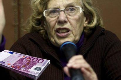 Carmena vuelve a subirse el sueldo por la cara y ya gana 104.000 €, 4.000 más que Ana Botella