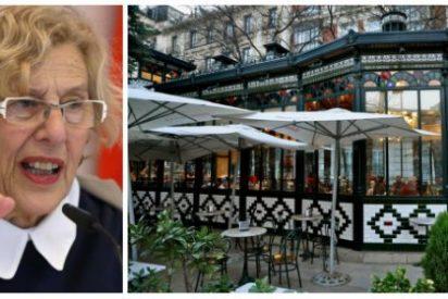 La mala leche de Carmena contra las terrazas: El café El Espejo, última víctima de su cruzada liberticida