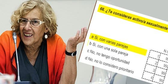 ¡Pero qué haces ahora, Manuela!: Carmena pregunta a los niños si practican sexo con una o varias parejas