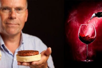 Así se hacen el vino y carne sintéticos y estos son sus beneficios