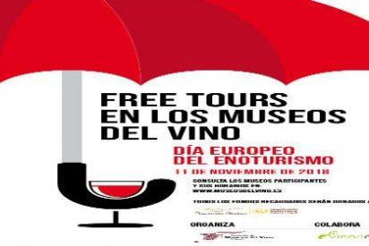 Los Museos del Vino de España organizan Free Tours por el Día Europeo del Enoturismo