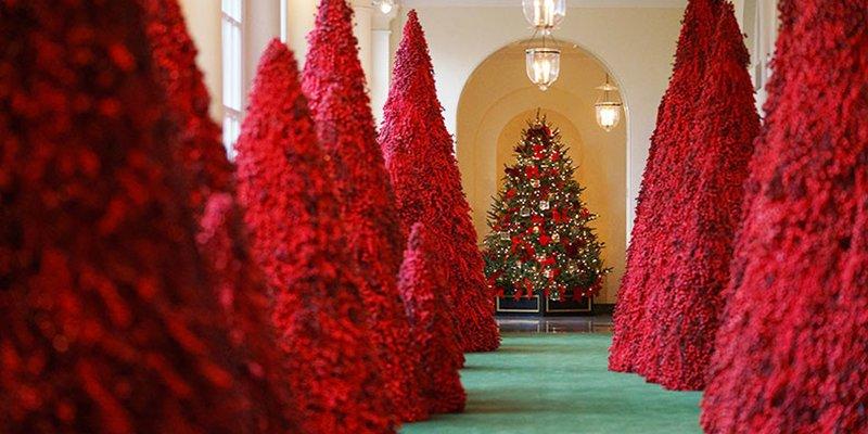 árbol de Navidad en colores