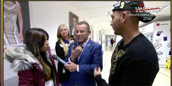Jorge Javier Vázquez se cuela en el despacho de Ana Rosa Quintana y provoca que Chabelita rompa a llorar