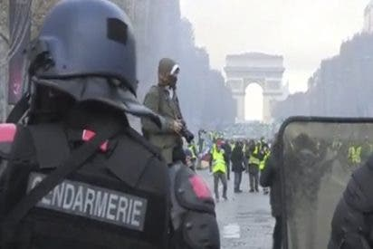 Cierran 7 estaciones de metro en París por las protestas de los 'Chalecos amarillos'