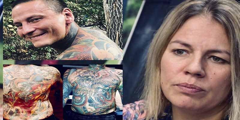 """La viuda paga 70.000$ para que despellejen a su marido y preservar sus tatuajes: """"No enterrarías a un Picasso"""""""