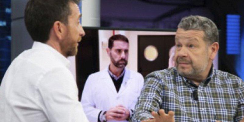Chicote deja con el culo al aire a Pablo Motos en 'El Hormiguero'