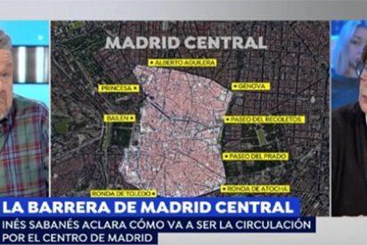 Chicote se abalanza sobre Sabanés por su caótico Madrid Central y la respuesta que recibe es de risa