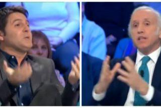 """Inda machaca a Cintora tras enzarzarse en un agrio debate sobre Sánchez y Franco: """"¡No manipules!"""""""