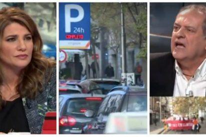 Javier Aroca carga contra quienes critican el Madrid Central de Carmena y se lleva un colosal estacazo de María Claver