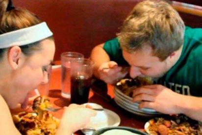 ¿Engordamos más comiendo rápido?