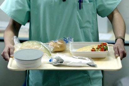 El misterioso animal que encontró en su plato una paciente de un hospital murciano