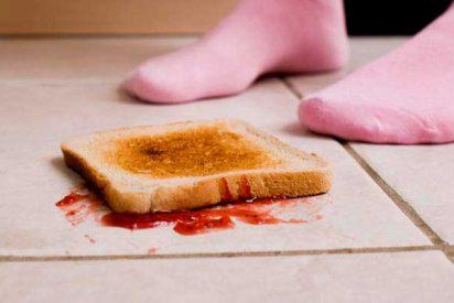 ¿Es peligroso comer algo que se ha caído al suelo?