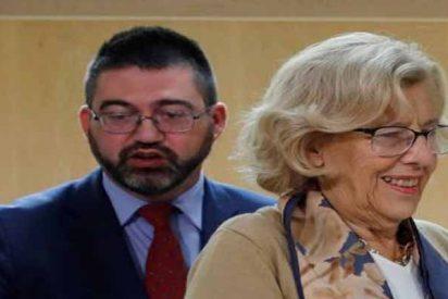 """El concejal Sánchez Mato, sobre la bandera de España: """"Una plancha para ese trapo"""""""