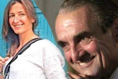 El caradura Mario Conde presenta a su nueva 'novia', una sevillana 27 años menor que él