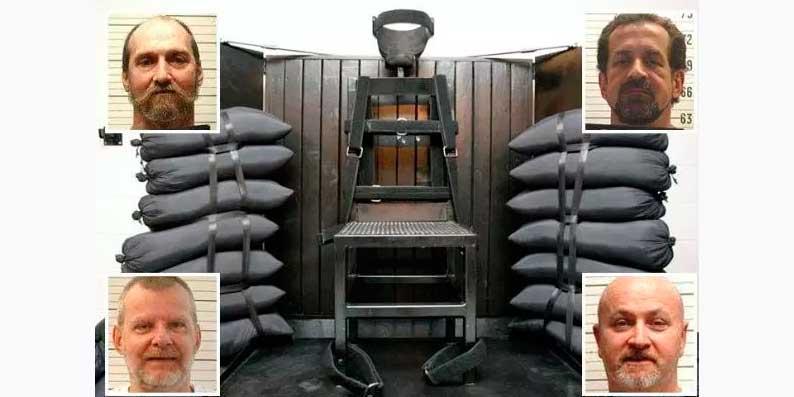 Cuatro presos condenados a muerte en Tennessee han pedido ser ejecutados por un pelotón de fusilamiento