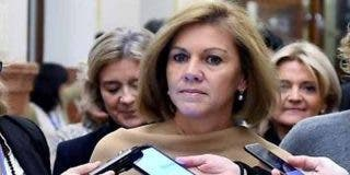 María Dolores Cospedal 'tira la toalla' y también renuncia a su escaño en el Congreso