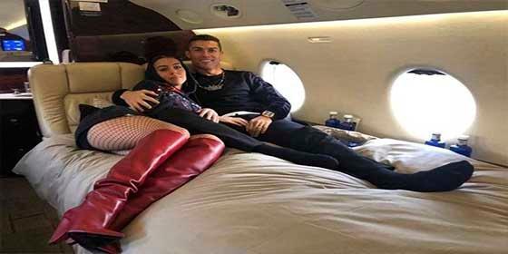 Georgina Rodríguez le tantea el 'paquete' a Cristiano Ronaldo y arden redes sociales