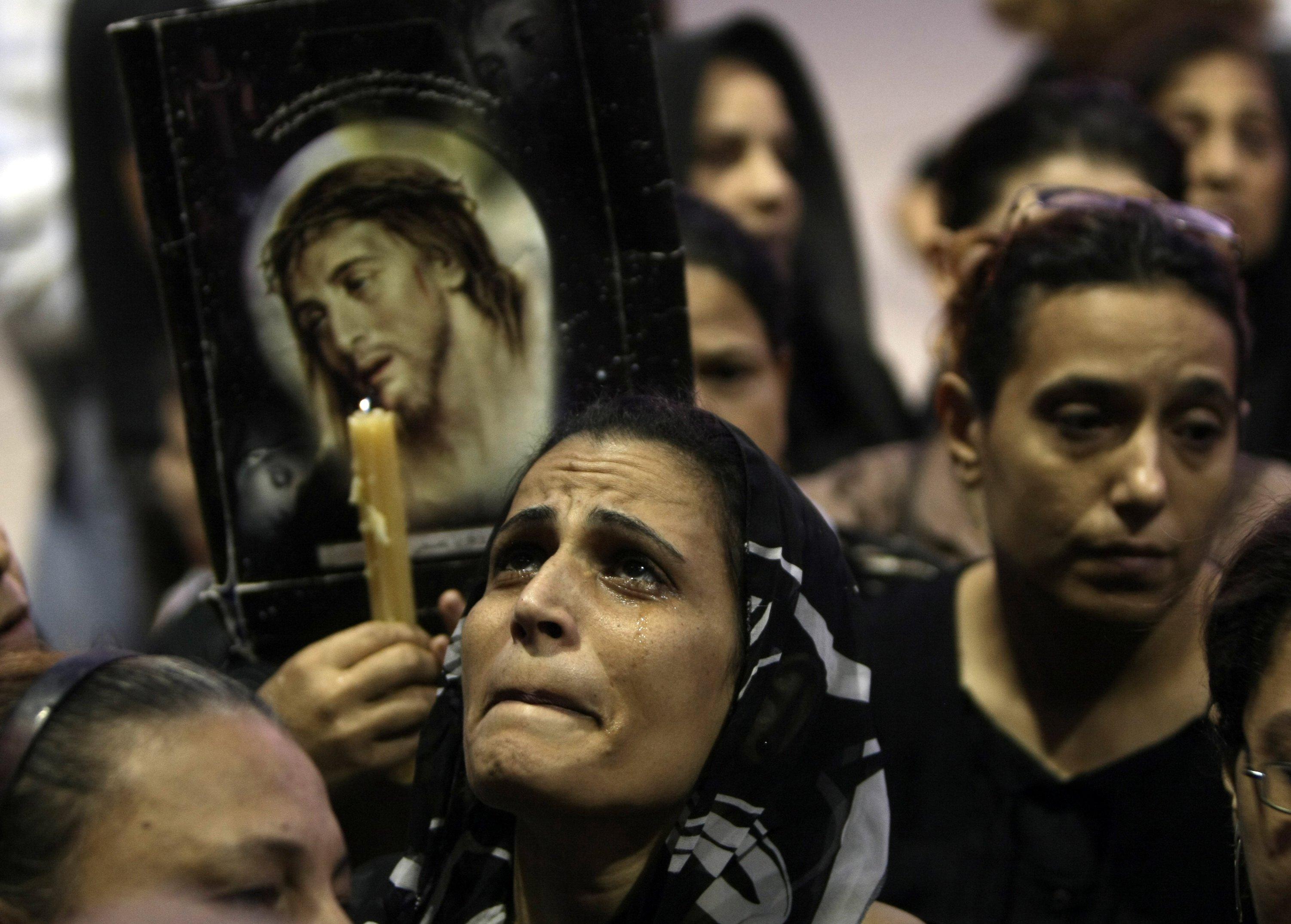 """Francisco reza para que los cristianos perseguidos """"resistan fuertes en la prueba"""""""