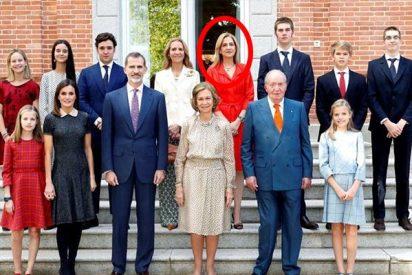 El retorno de la 'hija pródiga': la Infanta Cristina vuelve a salir en la foto… con los Reyes