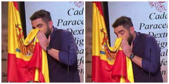 Sonarse los mocos en la bandera de España tiene premio: Dani Mateo presentará 'Zapeando' y hará doblete en 'laSexta'