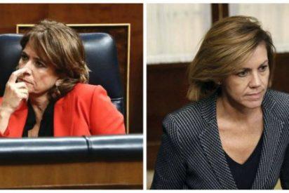 El PP exige a la 'homófoba' Dolores Delgado que haga como Cospedal y que dimita de inmediato