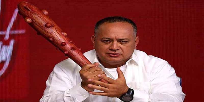 """El narco Diosdado Cabello tildó de """"ladrón"""" al Banco de Inglaterra por bloquear 14 toneladas de oro venezolano"""