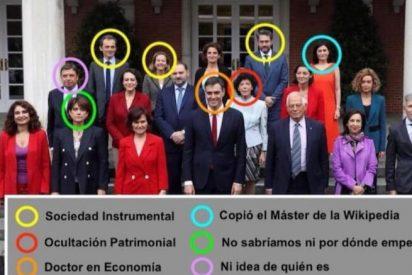 'Gobierno SA': Sánchez y 9 ministros están envueltos en casos de corrupción y escándalos éticos