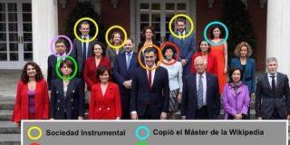 La brutal foto del Consejo de Ministros que se hace viral y hunde a Pedro Sánchez