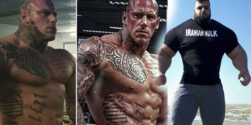 ¿Lucharán el 'Hulk' iraní y el 'Dios de la guerra' británico en un combate de las MMA?