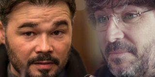 El 'rufián' Gabriel se pone en plan 'monja de clausura' tras recibir un estacazo de Jordi Évole
